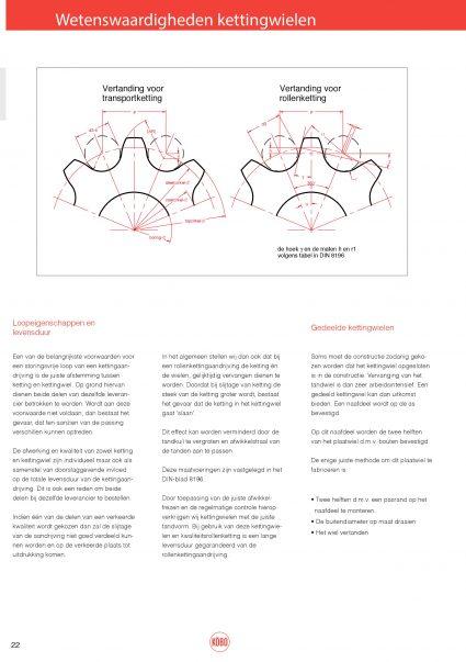 Introductie Rollenkettingen & kettingwielen