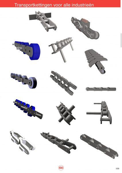 Transportketting voorbeelden diverse industrieën